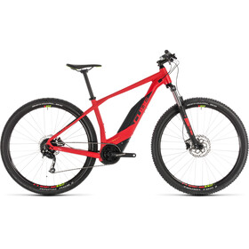 Cube Acid Hybrid ONE 500 E-MTB Hardtail red